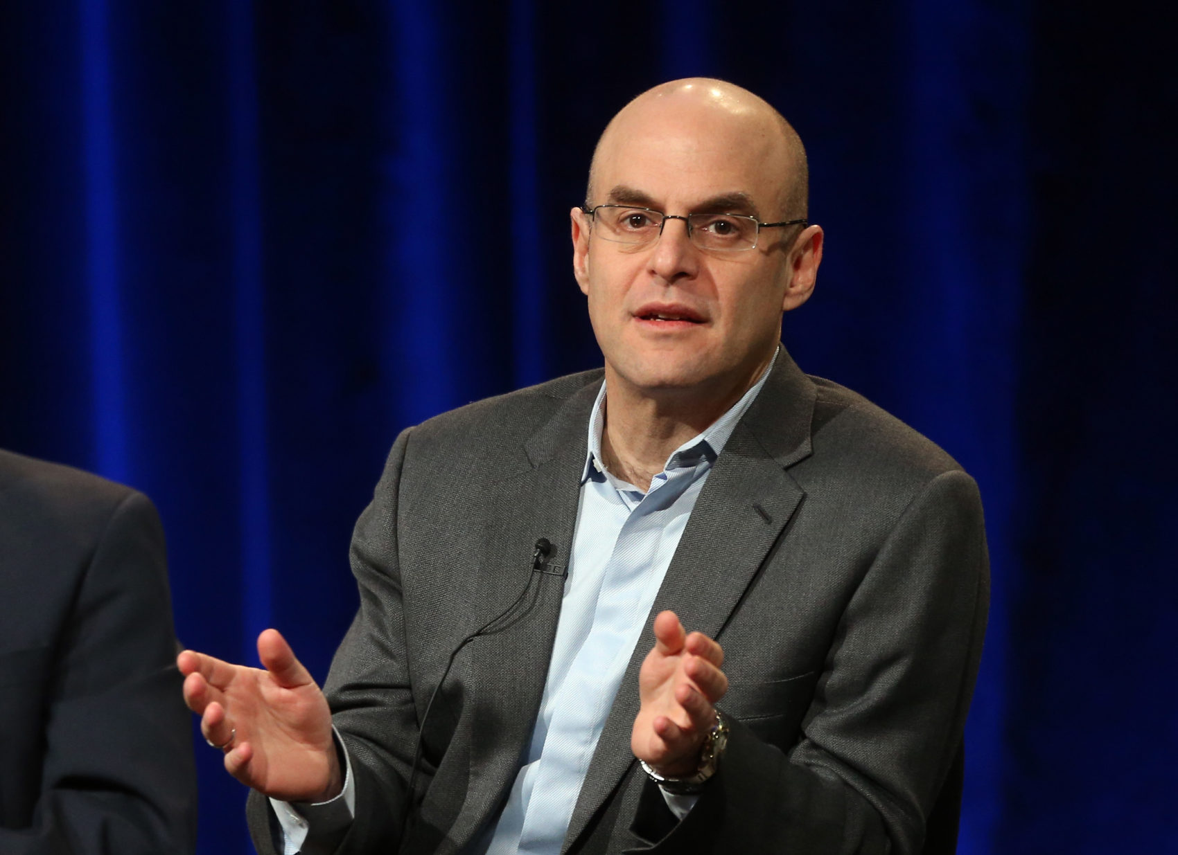 Peter Sagal has hosted Wait Wait ... Don't Tell Me! on NPR since 1998. (Frederick M. Brown/Getty Images)