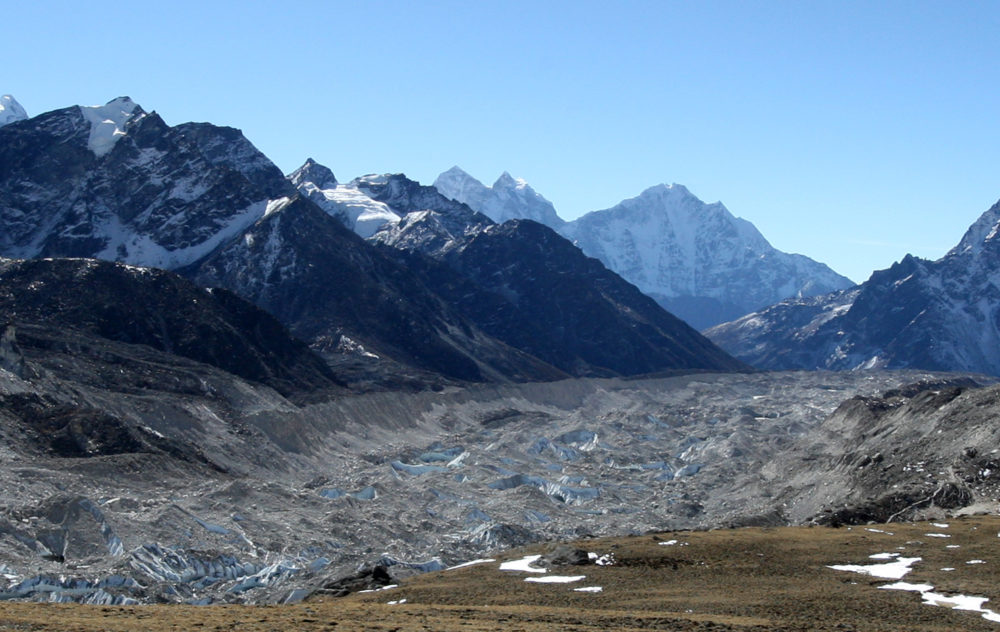 The Himalayan glaciers provide water for more than a billion people in Asia, but experts say they are melting at an alarming rate, threatening to bring drought to large swathes of the continent within decades. (Prakash Mathema/AFP/Getty Images)