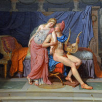 "Jacques-Louis David's ""The Loves of Paris and Helen."" (Wikimedia Commons)"