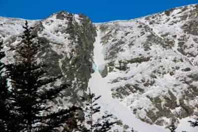 Central Gully in Huntington Ravine on Mount Washington, New Hampshire. (Sean Hurley/NHPR)