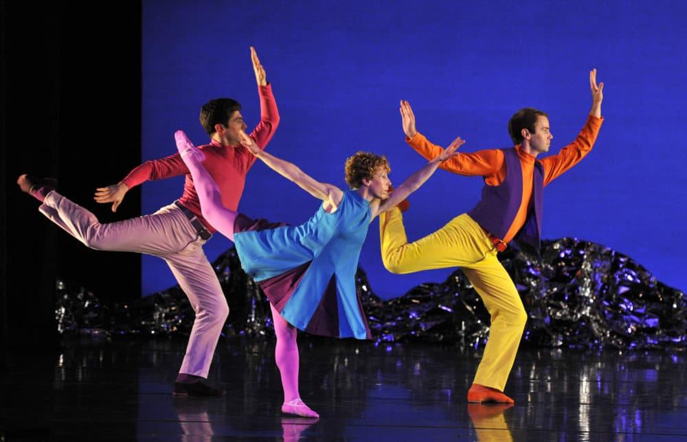 "Dancers perform ""Pepperland."" (Courtesy Robbie Jack)"