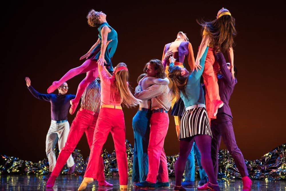 "Dancers perform ""Pepperland."" (Courtesy Mat Hayward)"