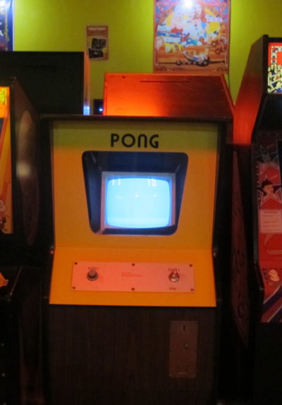 ACAM's 1973 Pong console. (Gary Waleik/Only A Game)
