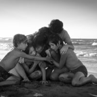 """A scene from Alfonso Cuarón's """"Roma."""" (Courtesy Carlos Somonte/Netflix)"""