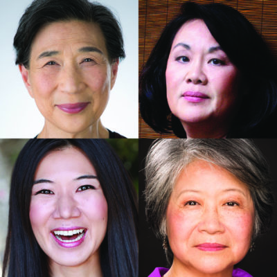 "The cast of ""Endlings,"" (clockwise from top left): Wai Ching Ho, Emily Kuroda, Jo Yang and Jiehae Park. (Courtesy of the artists)"