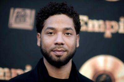 Actor and singer Jussie Smollett. (Richard Shotwell/Invision/AP)