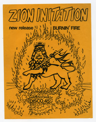 Zion Initation was a prominent band in Boston's Reggae scene in the '70s. (Courtesy Cultures of Soul Records)