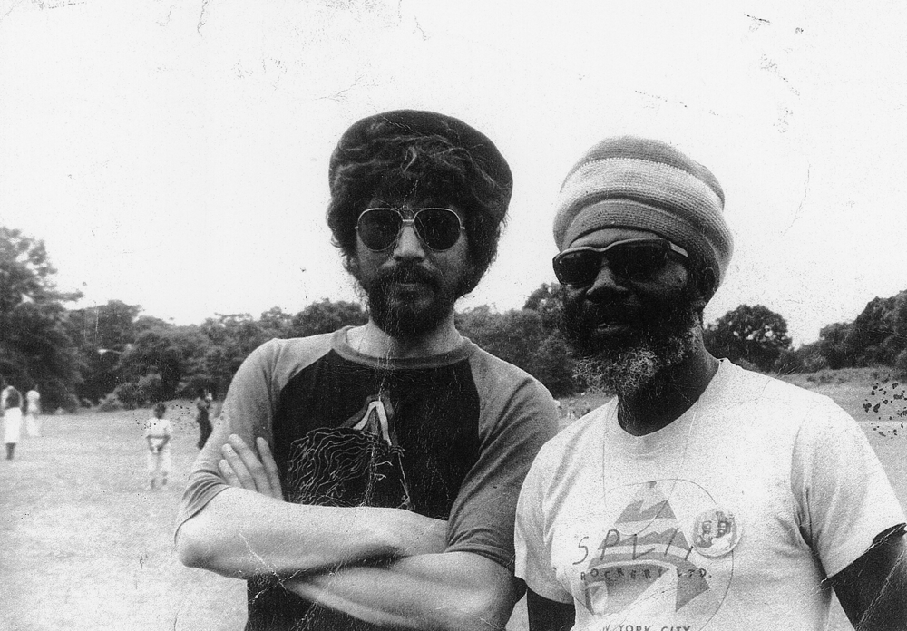 Zion Initation's Abdul Baki & Iphus Silcott (Courtesy Cultures of Soul Records)