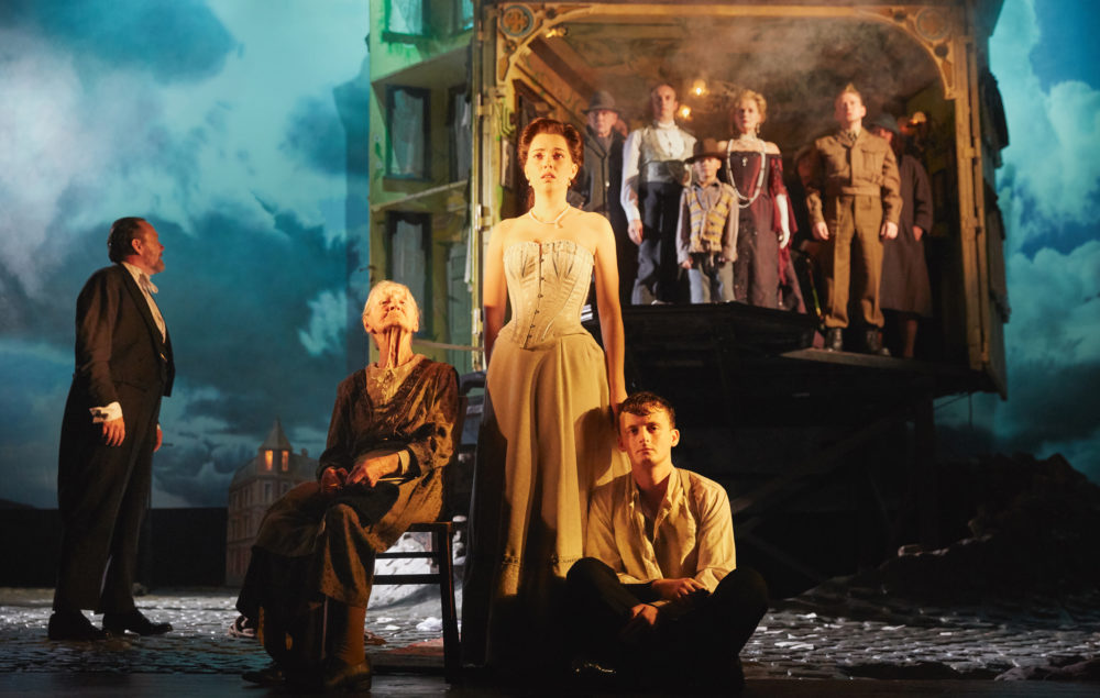 "The cast of ""An Inspector Calls."" (Courtesy Mark Douet)"