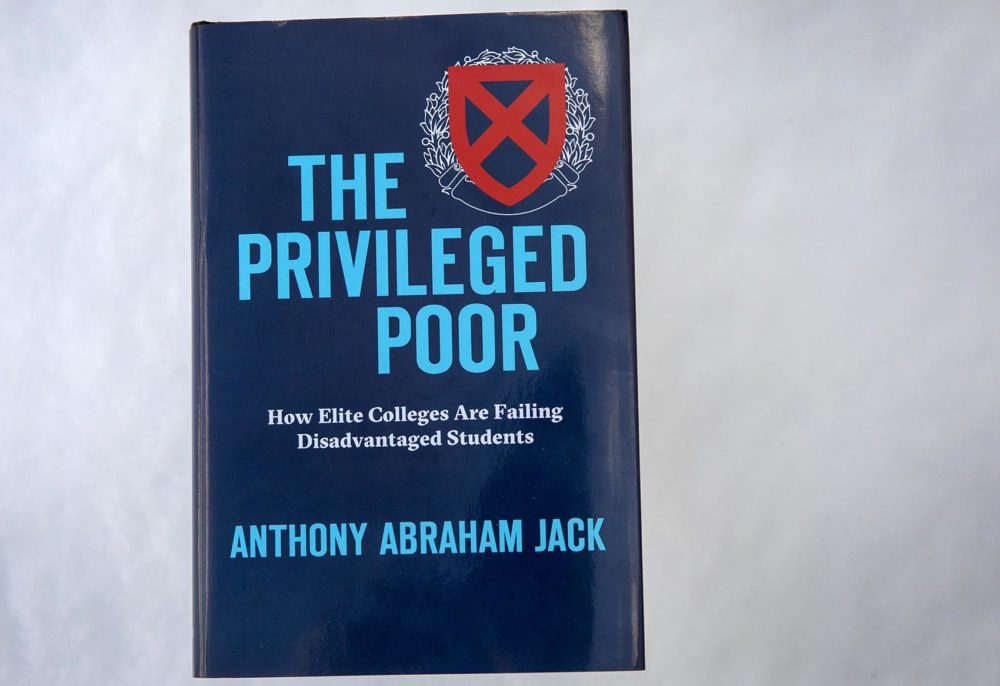 """The Privileged Poor: How Elite Colleges Are Failing Disadvantaged Students"" (Robin Lubbock/WBUR)"