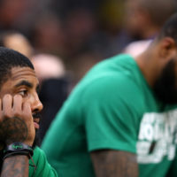 Celtics point guard Kyrie Irving (Maddie Meyer/Getty Images)