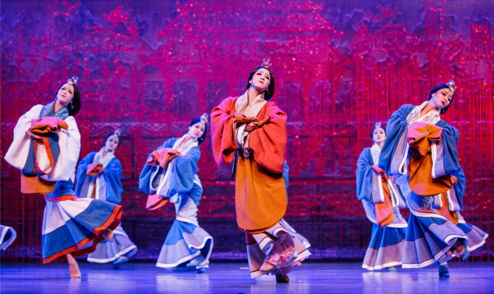 """""""Princess Zhaojun,"""" a dance drama from the China National Opera and Dance Drama Theater, is coming to Boston's Boch Center Shubert Theatre for two performances. (Courtesy China National Opera & Dance Drama Theater)"""