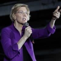 Elizabeth Warren on March 8 in the Queens borough of New York (Frank Franklin II/AP)