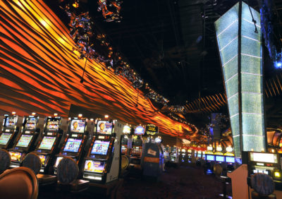 n this Aug. 26, 2008 file photo, the Casino of the Wind at Mohegan Sun is shown in Uncasville, Conn. (Jessica Hill/AP)