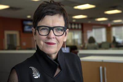 Jenny Shipley, former prime minister of New Zealand (Robin Lubbock/WBUR)