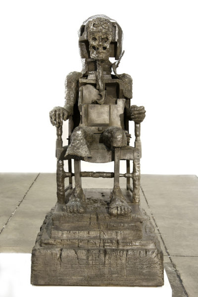 "Huma Bhabha's ""The Orientalist,"" created in 2007. (Courtesy of the artist and Salon 94)"