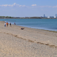 Wollaston Beach is shown in April 2012. (Eastern Nazarene College via Flickr)
