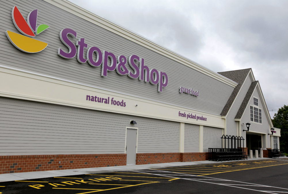 A Stop & Shop supermarket in Pembroke, Mass. (Stephan Savoia/AP)