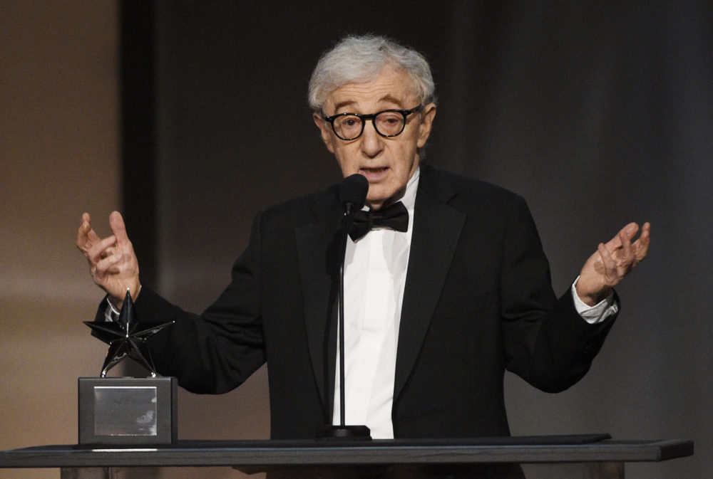 Filmmaker Woody Allen in June 2017. (Chris Pizzello/Invision/AP)