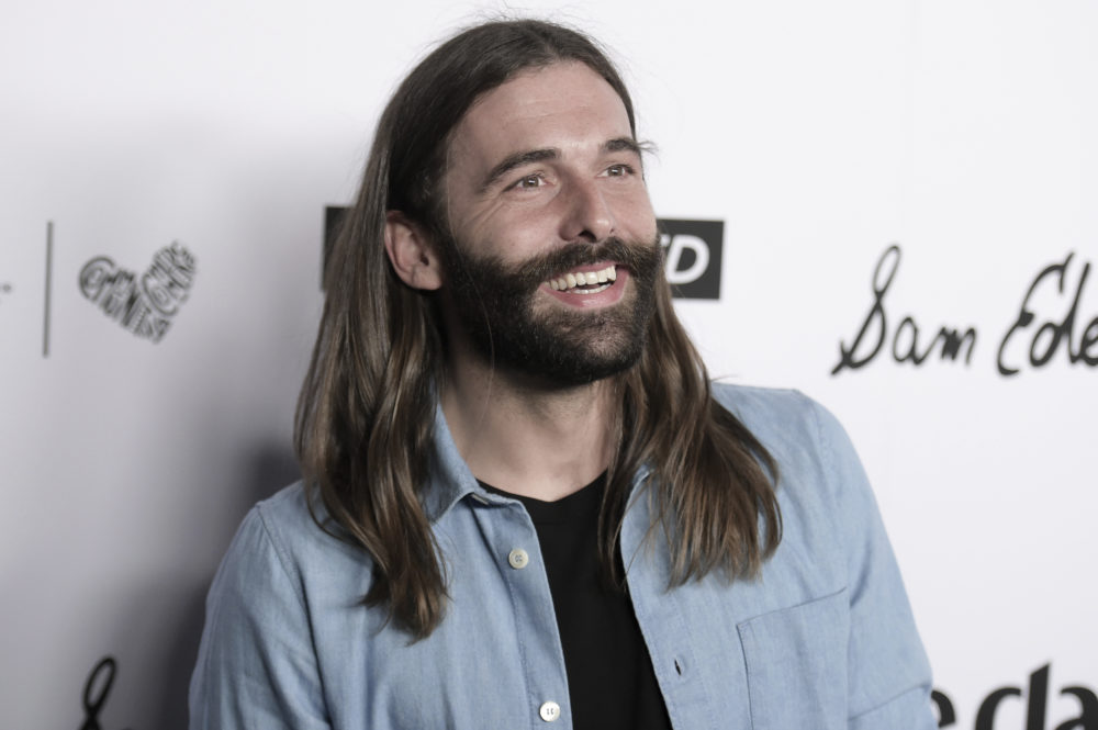 Jonathan Van Ness attends the 2018 Marie Claire's Fresh Faces Party at Poppy on Friday, April 27, 2018, in West Hollywood, Calif. (Richard Shotwell/Invision/AP)