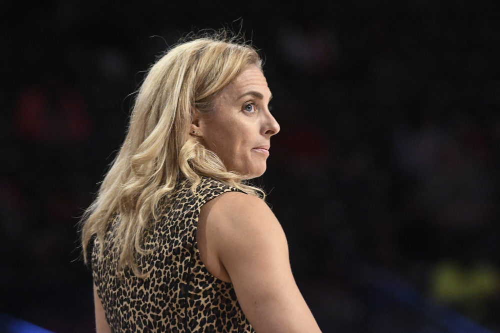 Nicki Collen led the Atlanta Dream to the No. 2 overall seed in the 2018 WNBA playoffs. (John Amis/AP)