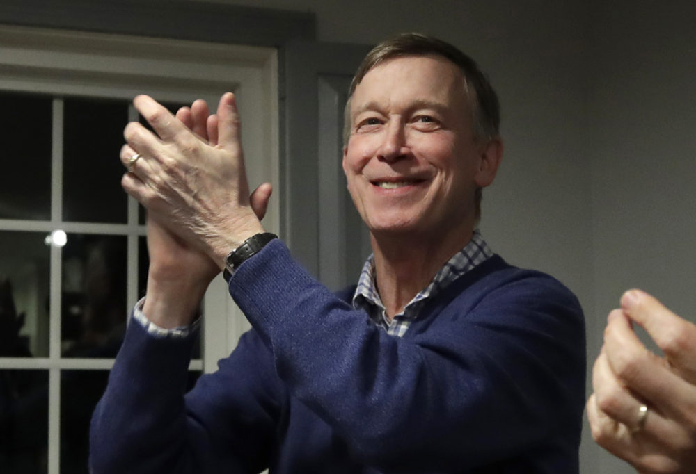 Former Colorado Gov. John Hickenlooper is running for president, becoming the second governor to jump into the sprawling Democratic 2020 contest. (Elise Amendola/AP)