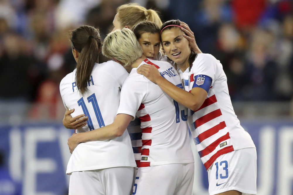 49ae03f6e6b Women s National Team Files Federal Lawsuit Against U.S. Soccer For ...