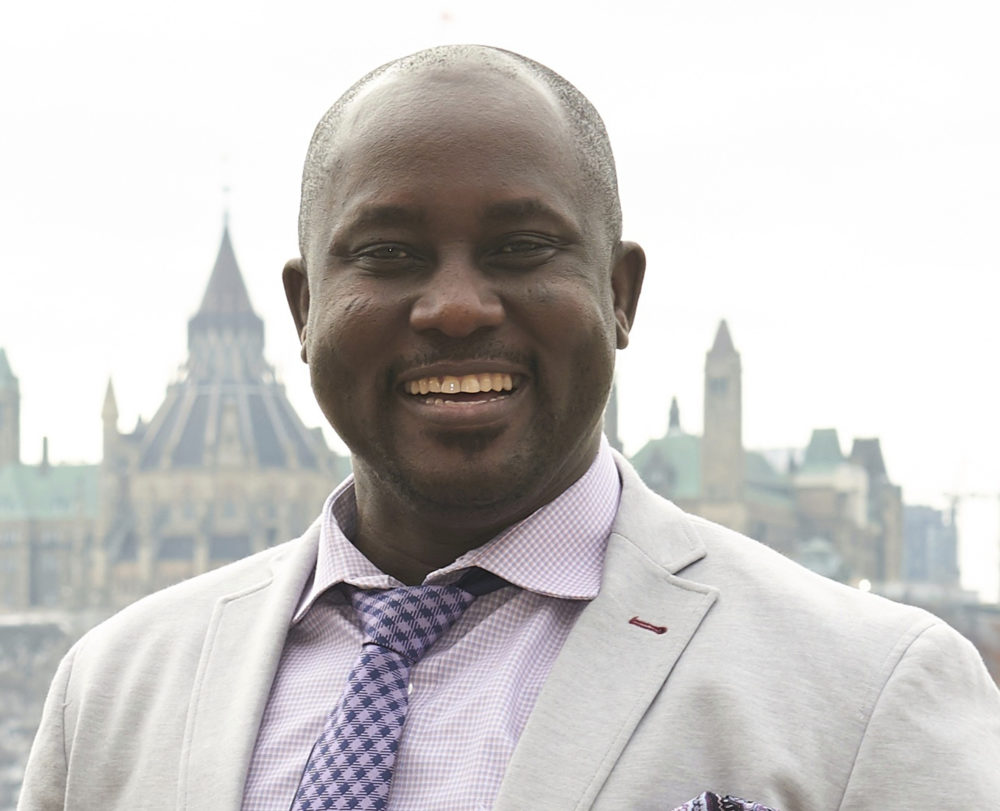 Pius Adesanmi, a Nigerian professor, was one of the victims who died Sunday, March 10, 2019, when an Ehtiopian Airlines jet crashed shortly after takeoff in Ethiopia. (Josh Hotz/Carleton University/AP)