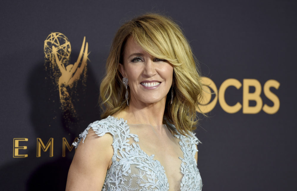 Actress Felicity Huffman was among dozens of people charged with fraud and conspiracy in a college admissions scandal. (Jordan Strauss/AP)