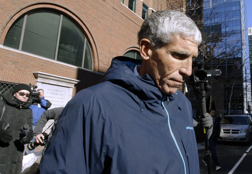 """William """"Rick"""" Singer founder of the Edge College & Career Network after he pleaded guilty to charges in a nationwide college admissions bribery scandal. (Steven Senne/AP)"""