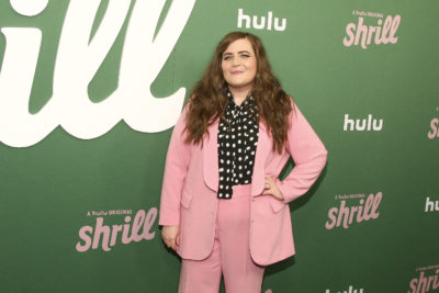 "Aidy Bryant attends the premiere of Hulu's ""Shrill"" at the Walter Reade Theater on Wednesday, March 13, 2019, in New York. (Photo by Andy Kropa/Invision/AP)"
