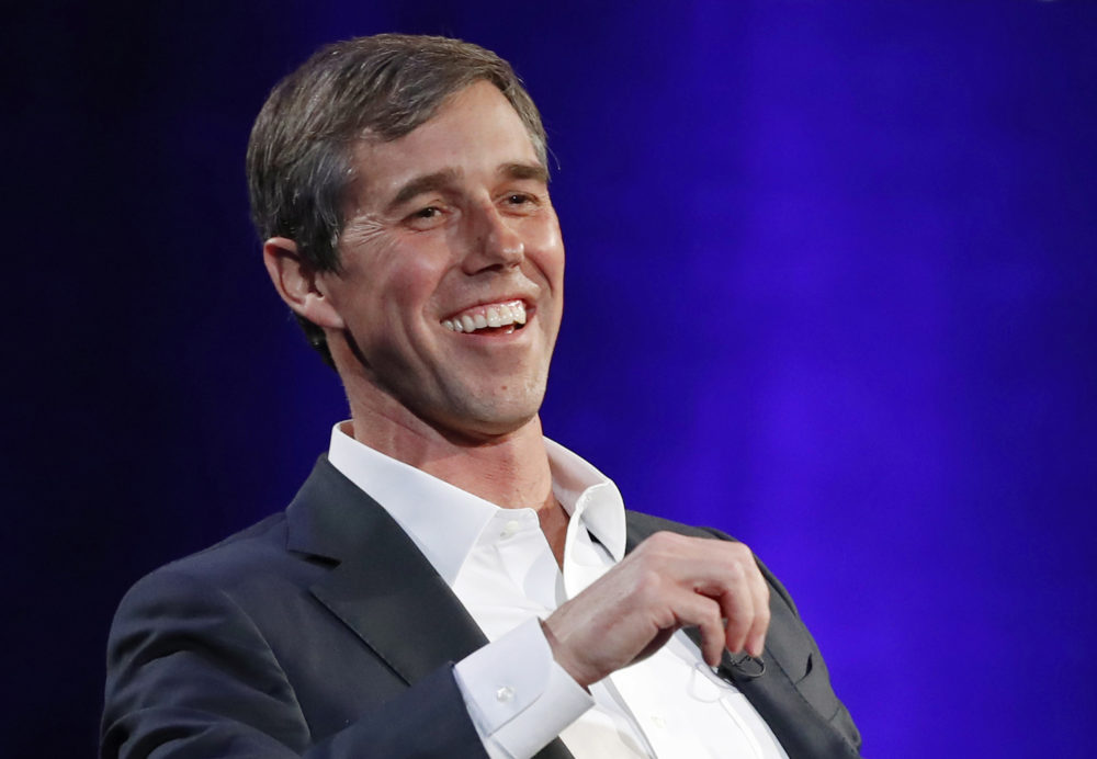 Beto O'Rourke formally announced Thursday that he'll seek the 2020 Democratic presidential nomination. (Kathy Willens/AP)