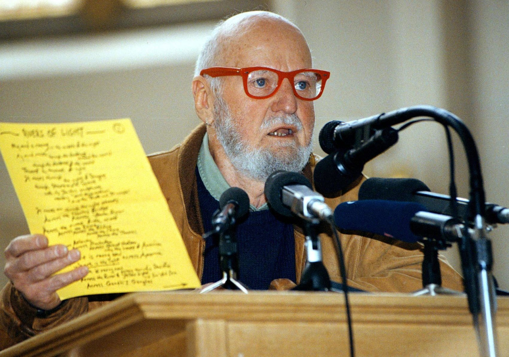 Iconic Poet And Activist Lawrence Ferlinghetti Turns 100