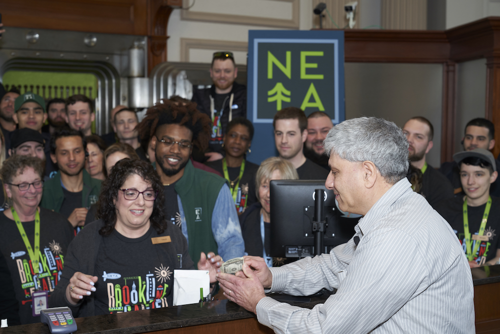 NETA opened its recreational cannabis shop in Brookline on Saturday, March 23, 2019. (Courtesy Atwater Studios)