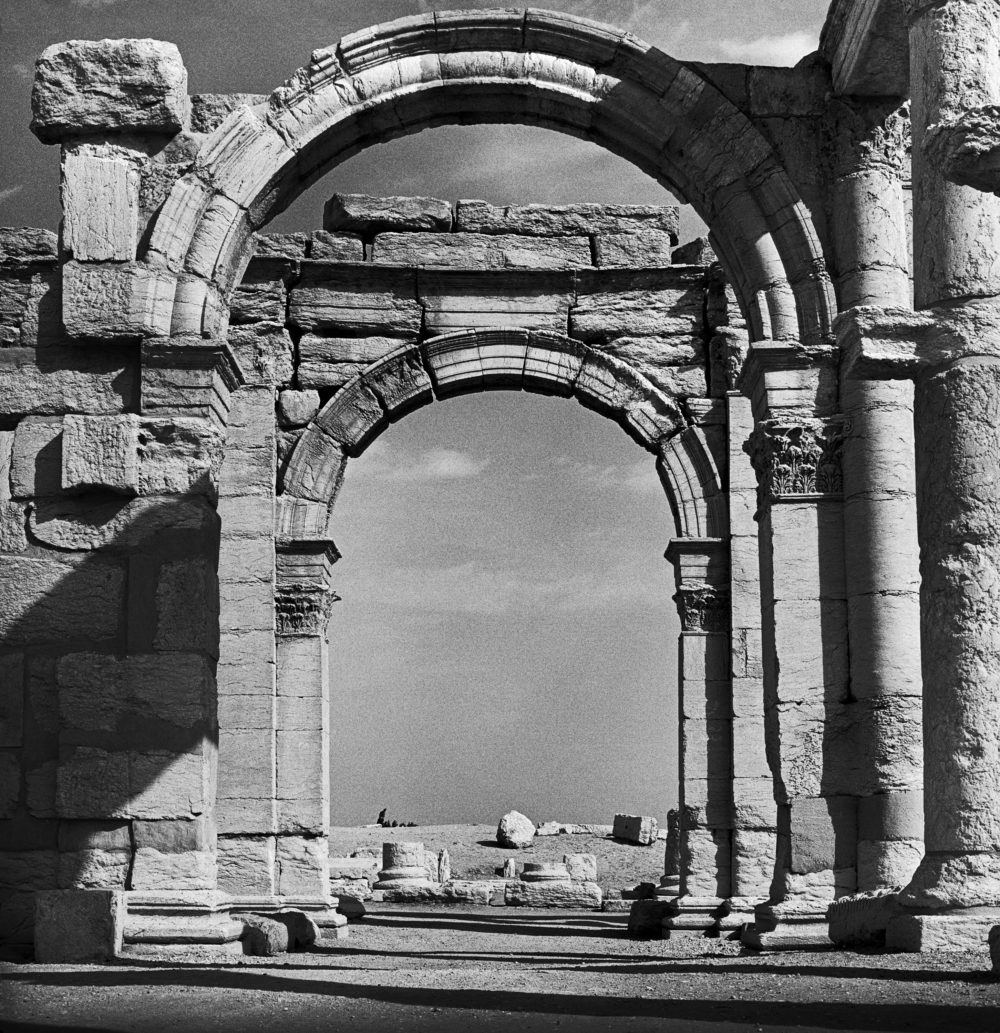 Entrance Arch to Theatre Street in Palmyra, Syria. (Kevin Bubriski)