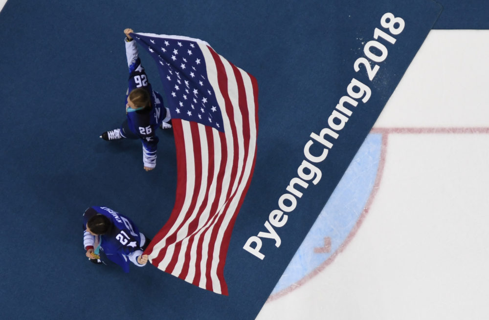 U.S. Olympic athletes are considering forming a union. (Brendan Smialowski/AFP/Getty Images)