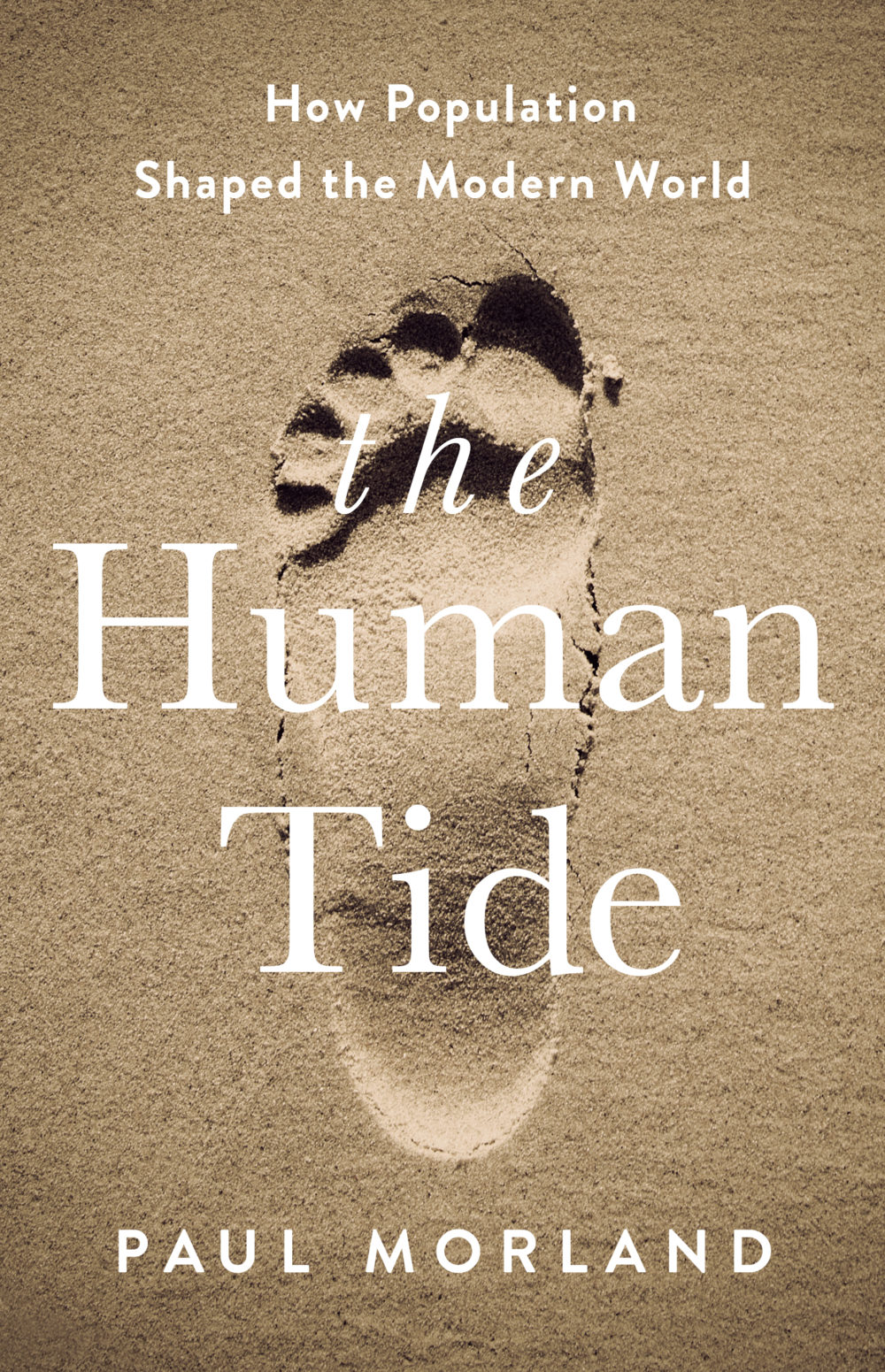 """The Human Tide"" by Paul Morland. (Courtesy of Hachette Book Group)"