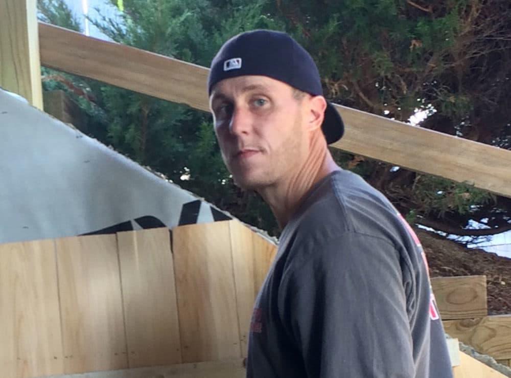 Sean Wallace, during an earlier construction job (Courtesy of Heather McDermott)