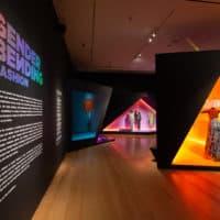 "The installation of ""Gender Bending Fashion"" at the MFA. (Courtesy Michael Blanchard/MFA)"