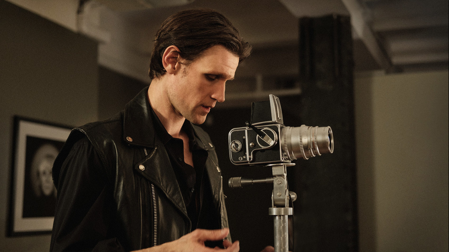 Matt Smith as Robert Mapplethorpe. (Courtesy Samuel Goldwyn Films)