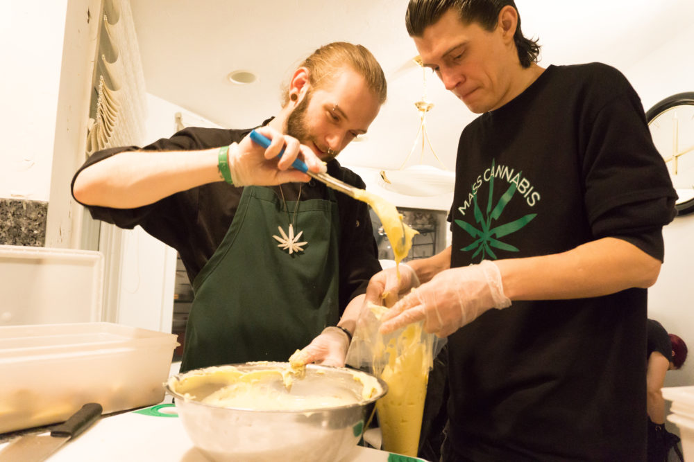 Mass Cannabis Chefs owners Joseph Nelson and Patrick Mulcahy. (Courtesy)
