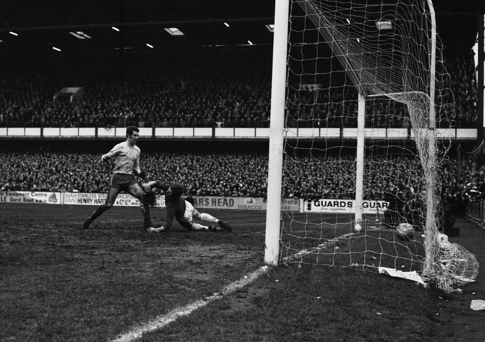 A 1970 photo from QPR's Loftus Road Stadium. (Robert Dear/AP)