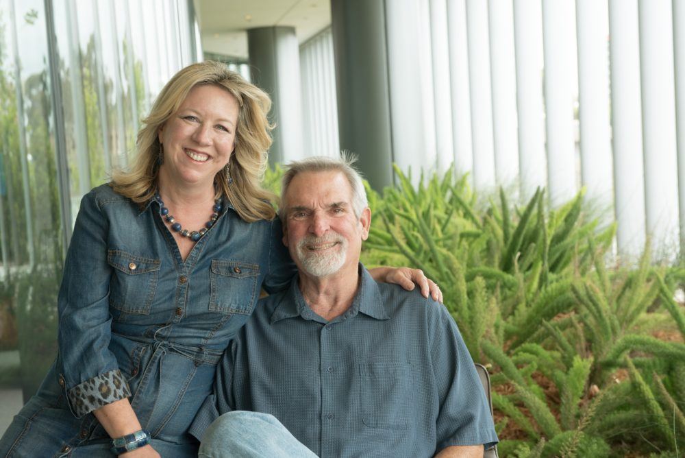 "Steffanie Strathdee and Tom Patterson are the authors of the book, ""The Perfect Predator."" (Courtesy of UC San Diego Health)"