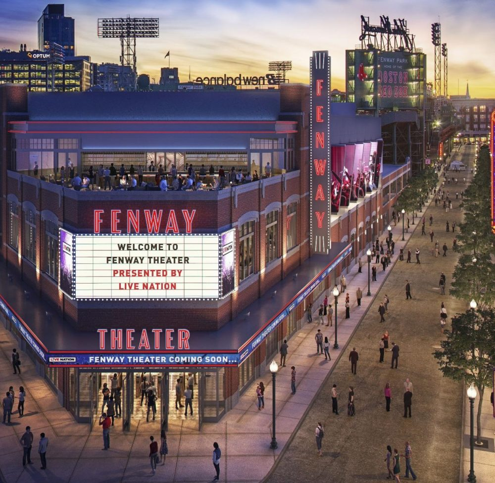 A rendering of the proposed Fenway Theater. (Courtesy Fenway Sports Group)