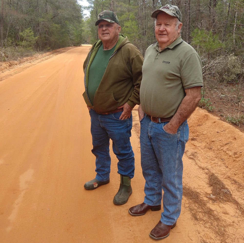 Billy McLean (left) and Von Jones (Courtesy of Jon Kalish)