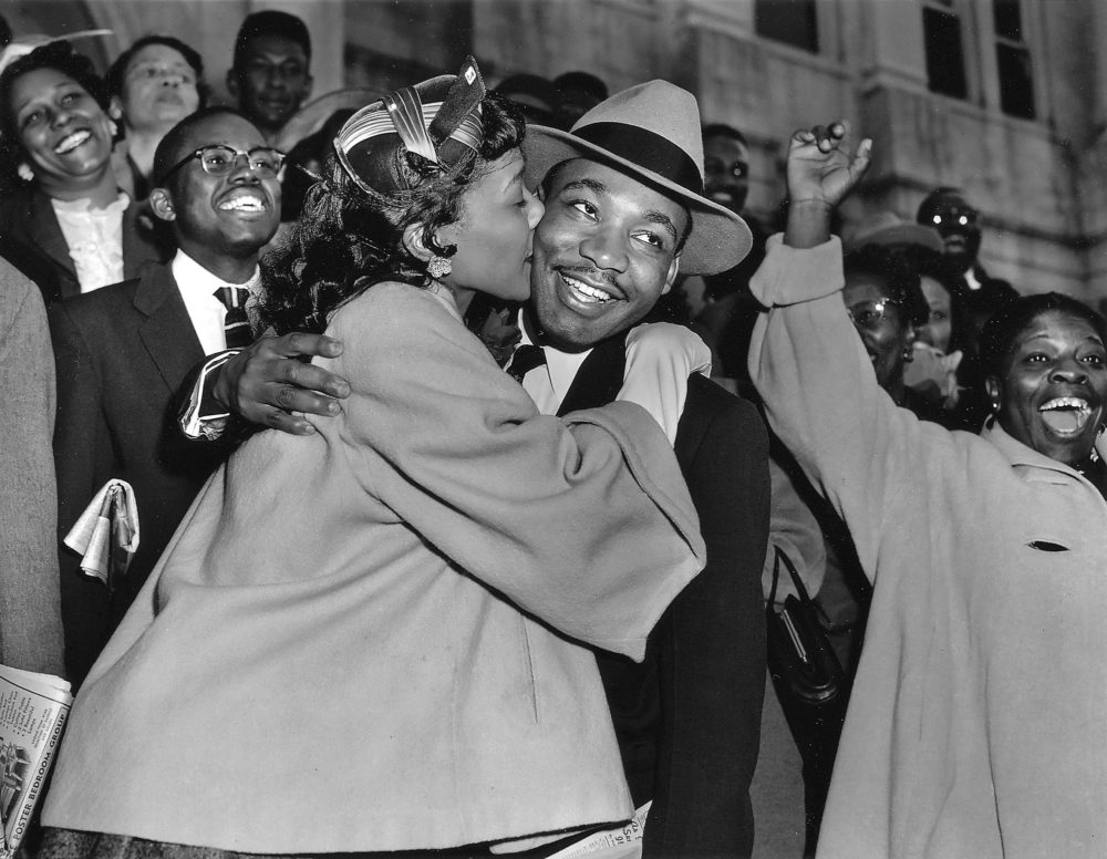 Martin Luther King Jr. and Coretta Scott King. (Courtesy)