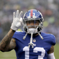 Former New York Giants wide receiver Odell Beckham Jr. will be going to Cleveland Browns. (Seth Wenig/AP)