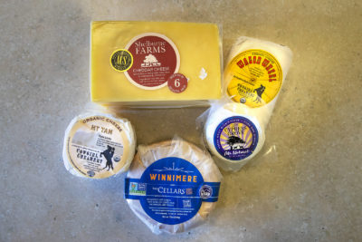 American cheese has had a bad reputation for decades. But much like the American wine industry, the American cheese scene has shifted. (Jesse Costa/WBUR)