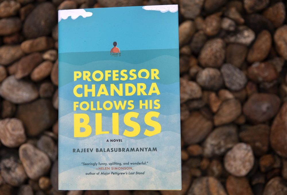 """Professor Chandra Follows His Bliss,"" by Rajeev Balasubramanyam. (Robin Lubbock/WBUR)"