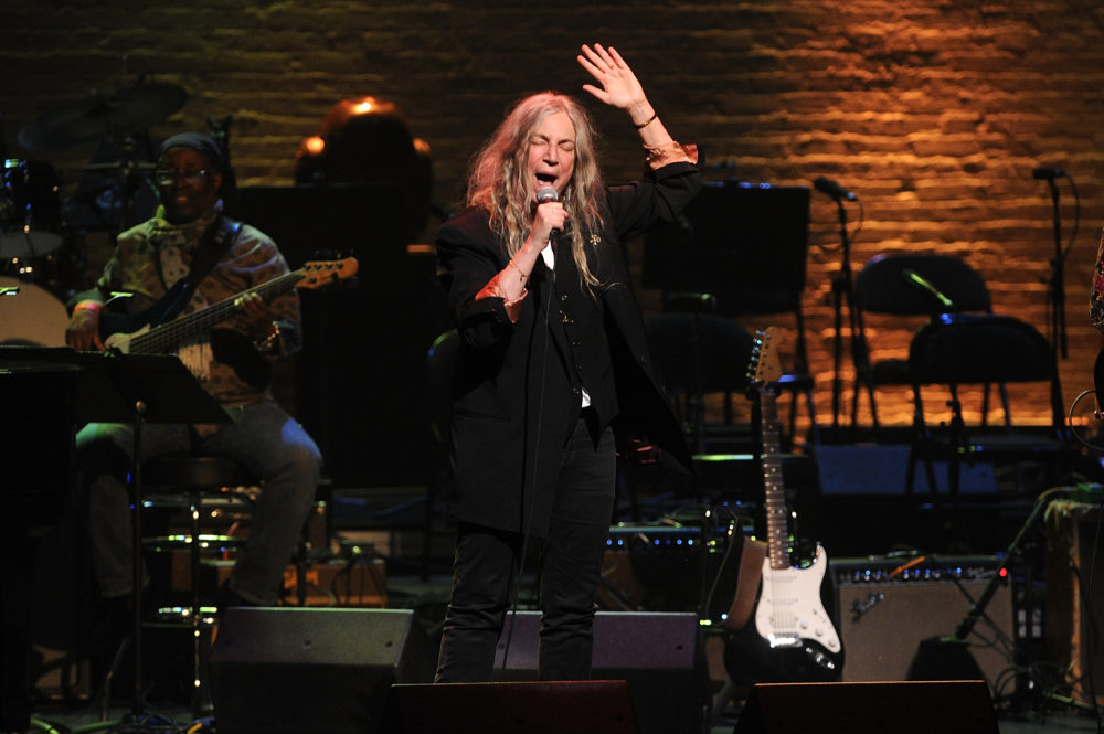 Patti Smith performs at The Apollo Theater on April 4, 2019, in New York. (Brad Barket/Invision/AP)